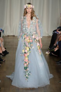 Marchesa Spring 2015 Collection. Photo: Imaxtree