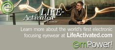 Electronic eyewear with liquid crystals near power zones?  We have that too.