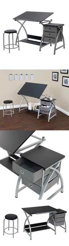 Drawing Boards and Tables 183083: Drafting Table Set Top Adjustable ...