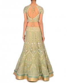 Eye-Catching Lengha for the Royal Gala