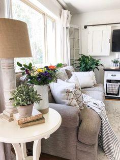 Farmhouse Style Living Room Decorating Design Decor Interior