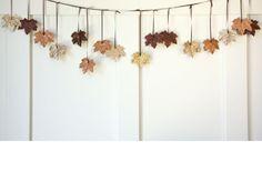 Bring efteråret ind i dit hjem med blade, kastanjer og græskar. Vi giver dig 19 kreative projekter til de kolde eftermiddage, som du kan lave sammen med resten af familien.