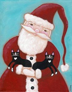 Santa's Cats by Kilkennycat, via Flickr