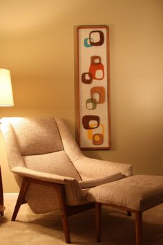 Mid Century /  Danish Modern WITCO Styled Wall by modernretrograde, $250.00