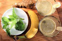 Telo si po zime zaslúži detox. Vyskúšajte kúru zo žihľavy s banánom a topinamburom - Záhrada.sk Cantaloupe, Smoothie, Detox, Fruit, Food, Smoothies, Shake, Meal, The Fruit