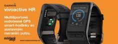 Garmin vívoactive HR sú najpokročilejšie multišportové hodinky s monitorom aktivity so sústavným 24/7 meraním pulzu.