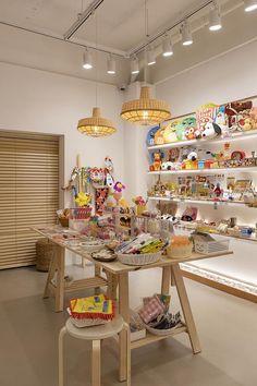 Cafe Shop Design, Store Design, House Design, Japan Store, Cozy Aesthetic, Pastel Room, News Cafe, Kawaii Room, Cafe Style