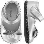 Pediped Betty Shoe in Silver