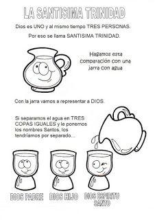 44 Ideas De Santísima Trinidad Santisima Trinidad Santisima Trinidad Para Niños Trinidad