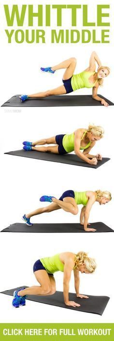 These 6 tummy-tightening routines will tackle those trouble spots AND strengthen your core!