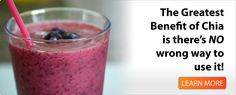 Chia Bia for Your Health-I am going to have to try these, I have to be on a liquid diet for the next month and really am getting tired of the same old smoothies and protein shakes