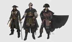 ArtStation - Pirate designs, Brian Matyas