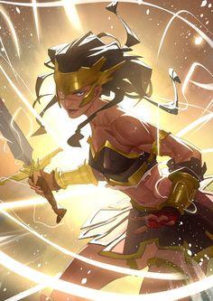 Warrior by Nesskain.deviantart.com on @DeviantArt - More at https://pinterest.com/supergirlsart #female #fantasy #art