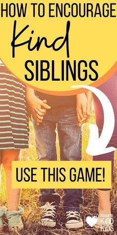 Want to increase sibling kindness rather than fighting and competition? Coffee and Carpool knows what you need to do. Turn siblings into teammates and play this game together! Sibling Relationships, What Is Silly, Completing The Square, Books About Kindness, Proof Of Love, The Game Is Over, Sibling Rivalry, Working With Children