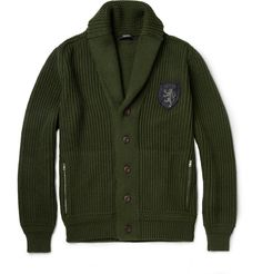 Chunky Wool Cardigan|MR PORTER