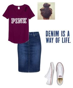 Denim is not the way of life! Cute Modest Outfits, Skirt Outfits Modest, Denim Skirt Outfits, Classy Outfits, Outfits For Teens, Pretty Outfits, Casual Outfits, Cute Fashion, Modest Fashion