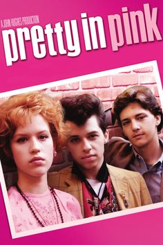 #ThrowbackThursday: Molly Ringwald for the movie cover of 'Pretty in Pink' Makeup by me. Xo Carol