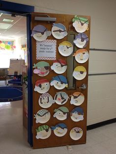 Create a pirate face activity - use them to decorate a wall