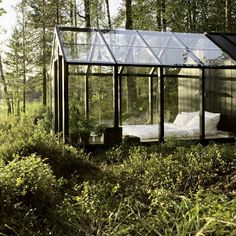 glass cabin