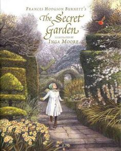 First-published-in-1909-The-Secret-Garden-has-enchanted-generations-of-readers-In-this-remarkable-new-edition-the-beloved-text-is-brought-to-abundant-new-life-by-esteemed-illustrator-Inga-Moore-Full-color