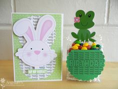 Bunny Card & Froggy candy