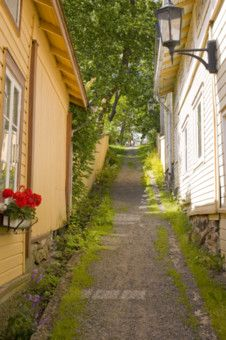 """Naantali, Finland was such a pretty city to visit on midsummer's eve! """"old city - Naantali-our neighbor city, where or president's summer castle is."""" Just a short boat/bus ride from Turku too."""