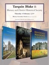 Talk by Tarquin Blake, author/photographer of Abandoned Mansions of Ireland. In Blarney, Co Cork, Ireland - The Collins Press: Irish Book Publisher Cork Ireland, Abandoned Mansions, Book Publishing, Irish, Author, Events, Books, Libros, Irish Language