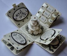 Carta cartolina !: boxes greeting - exploding boxes