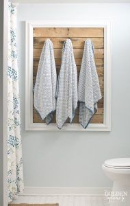 Déco salle de bain avec des palettes