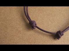 Pulsera de cabo [FACIL] -  nudos corredizos
