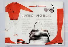 love the layout of vintage mags / everything under the sun