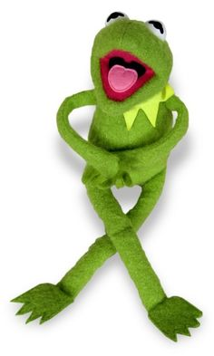 Kermit the Frog stuffed toy, between 1976 and 1978