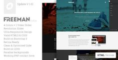 Freeman - Multipurpose One Page Template