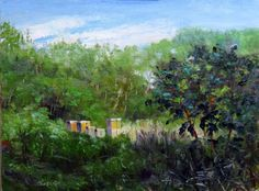Farm to Canvas~Evening Light at Plated Landscape~ 9x12~ SOLD http://www.studiovincenza.blogspot.com