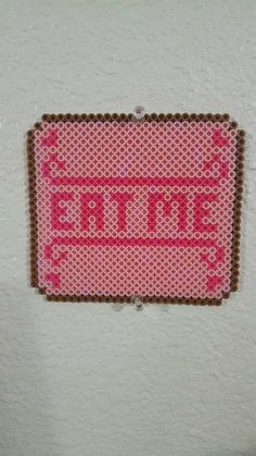 Eat Me - Alice perler beads by LadyRaveicorn