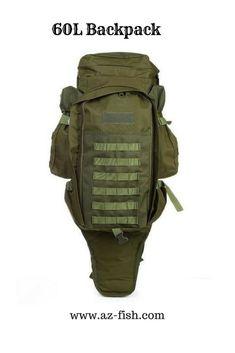 60L OUTDOOR BACKPACK Military Backpacks - Travel Backpacks For Men -  Trekking Backpack - Camping Rucksack dfc142d18d483