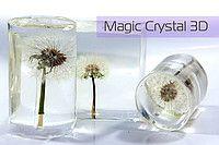 Ювелирная прозрачная смола Magic Crystal 3D упак. 0,75 кг
