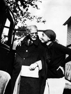 Alfred Stieglitz & Georgia O'Keeffe