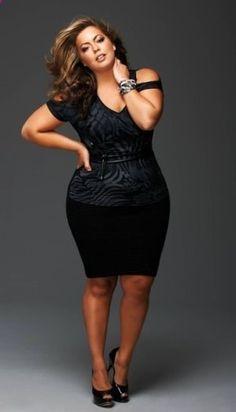 Plus size fashion, nice little Black Dress!!!!!!!