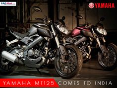 Yamaha MT-125 Reaches Indian Shores