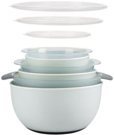 OXO Good Grips 9-pc. Nesting Bowl and Colander Set