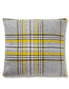 MOON Graphite Check Cushion | M&S