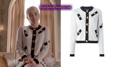 Scream Queens Fashion-Where To Buy Chanel Scream Queens, Scream Queens Fashion, Chanel Oberlin, Queen Outfit, Queen Fashion, Emma Roberts, Blazer, Skirts, Sweaters