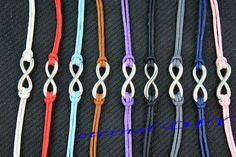 Karma alloy bracelet  infinity bracelet charming by eternalDIY, $1.99