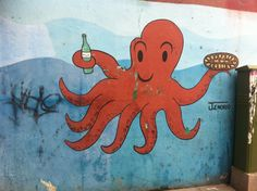 Pulpo à Madrid #madrid #pulpo #streeart