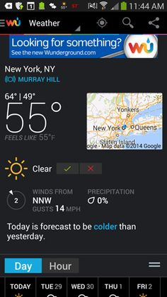 You can't control the weather, but these free apps, many of which have capable iOS counterparts, can help you prepare for it- Weather Underground