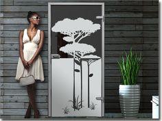 Fensterfolie Savannenbaum