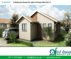 There is no need to be paying rent when you could own your own home. First Choice Realty CC have various sized house plans to suit almost any budget. Contact us today or visit our website for more options. #housing #property #Gauteng