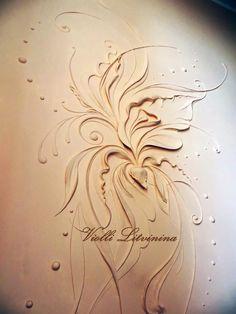 Plaster Sculpture, Plaster Art, Sculpture Painting, Wall Sculptures, 3d Wall Art, Wall Art Sets, Gothic Pattern, Textured Walls, Wall Design