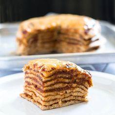 Tegnap nem voltam már online, de most hoztam is a receptet - tényleg egyszerű… Pie, Breakfast, Instagram Posts, Desserts, Food, Torte, Morning Coffee, Tailgate Desserts, Cake